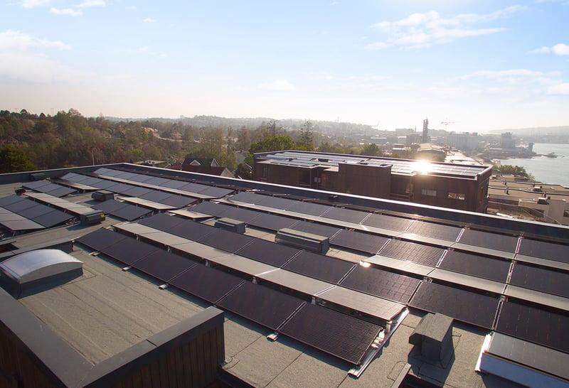 FUSen solceller på tak