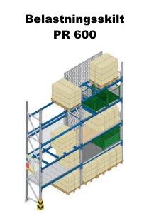 Belastningsskilt PR 600