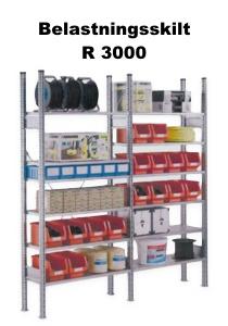 Belastningsskilt R 3000