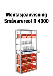 Småvarereol R 4000