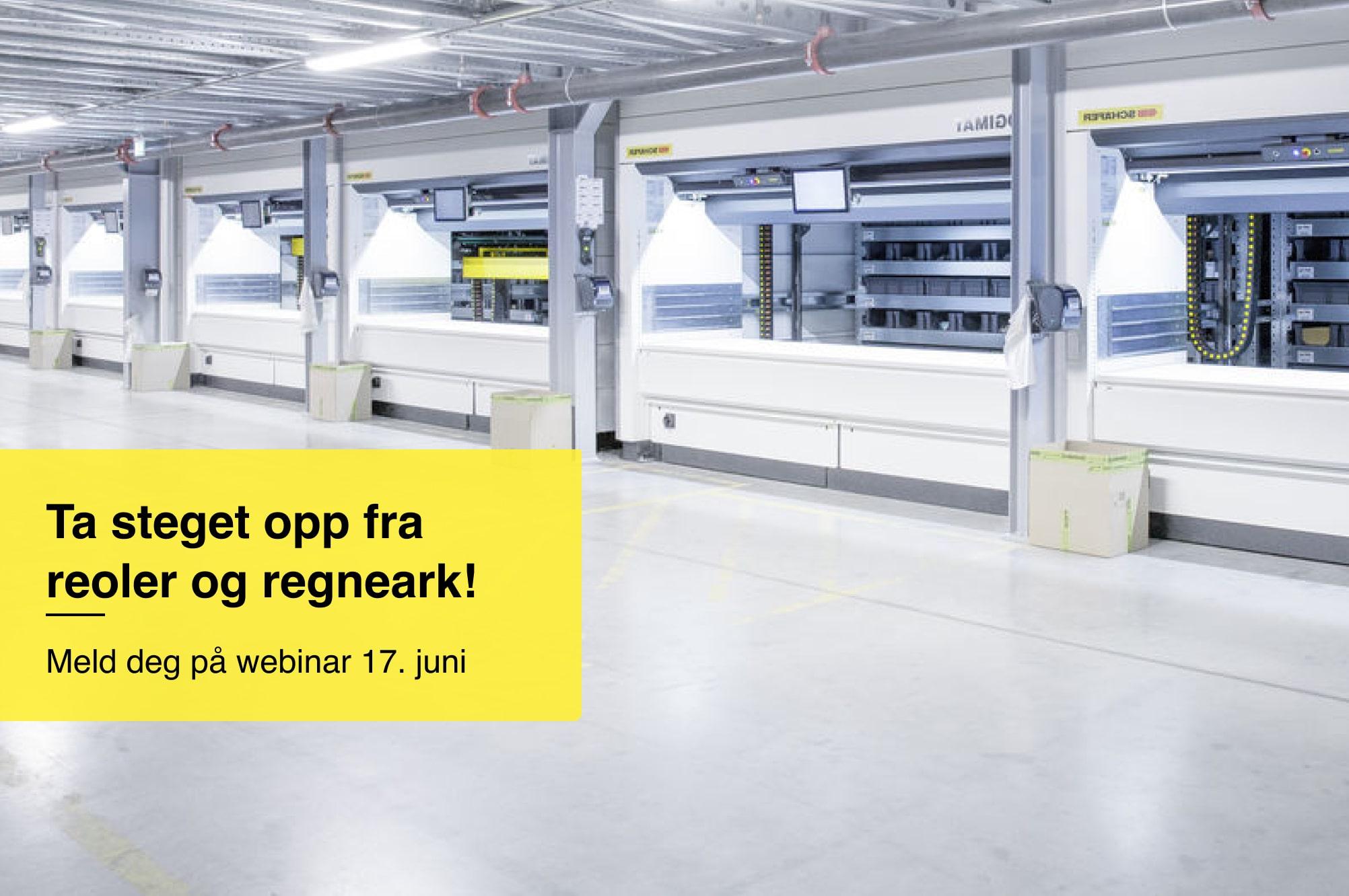 [Fullført] Webinar 17. juni: Automasjon for små og mellomstore lagre