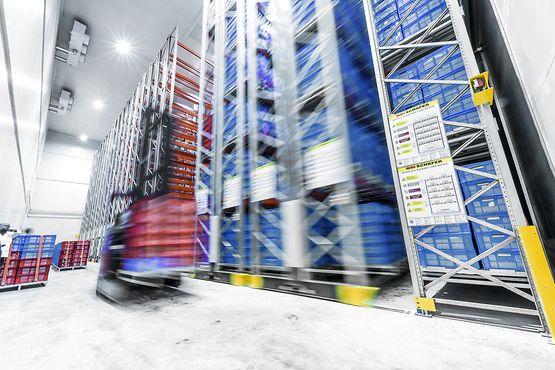 Slik kan mobile reoler kutte store kostnader for fryselageret